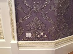 1000+ images about Anaglypta and Lincrusta on Pinterest   Stair risers, Painted wallpaper and Dragon pattern