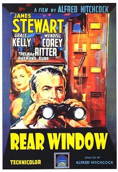 Marts 2016 | Alfred Hitchcock | Rear Window | USA (1954) | 061 MyMovies | 011 Hitchcock | 003 Journalistik | 003 James Stewart | 001 Grace Kelly