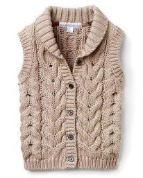 Baby Cardigan Knitting Pattern Free, Baby Boy Knitting Patterns, Beginner Knitting Patterns, Knit Vest, Knitting For Kids, Baby Shirts, Knit Fashion, Baby Sweaters, Cute Casual Outfits
