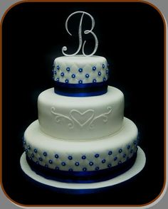 Royal Blue Wedding Cakes Simple Concept 11 On Home Gallery Design Ideas Pretty Cakes, Beautiful Cakes, Amazing Cakes, Blue Velvet Cakes, Blue Cakes, Royal Blue Wedding Cakes, Wedding Cake Inspiration, Wedding Ideas, Wedding Planning