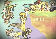 Audience wallpaper belongs to Lupisvulpes.