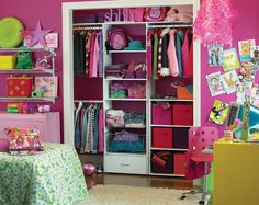 this looks like the perfect solution to my closet that aparently has no doors