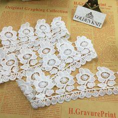 Wide 37cm Soft Mesh Flowers Bilateral Skin Care Eyelash Lace Wedding Veil Dress Curtain Decoration Material Home & Garden