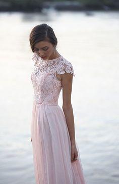 Color Inspiration: Ines Di Santo + Blush Wedding Ideas