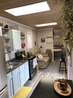 'The Intellectual' Tiny Home is a container loaded with personality! This avant-garde shipping container home is currently available for sale in. Shipping Container Storage, Shipping Container House Plans, Storage Container Homes, Storage Containers, Shipping Container Interior, Container Home Designs, Building A Container Home, Container Cabin, Tiny House Listings