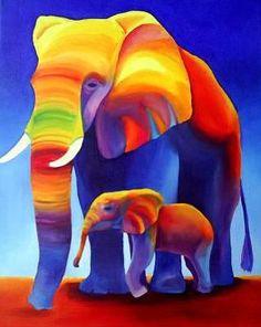 Схема вышивки «Слоны» - Схемы автора «bulkina75» - Вышивка крестом