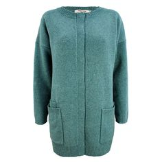 Nice Things cardigan, Oversize Uldcardigan, Blå #superlove