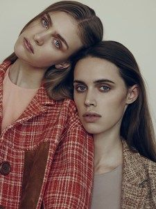 Hedvig Palm and Georgia Hilmer by Matthew Sprout.