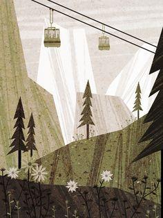 Summer, 1996 - portilloillustration.com