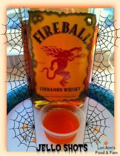 Fireball Whiskey Jello Shots