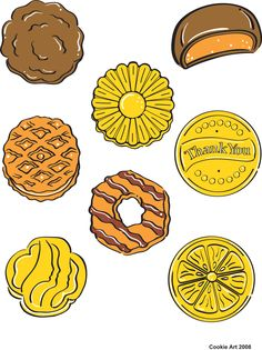 Cookie Art (CUT OUTS)