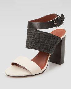 Elizabeth and James Block Ankle-Strap Sandal