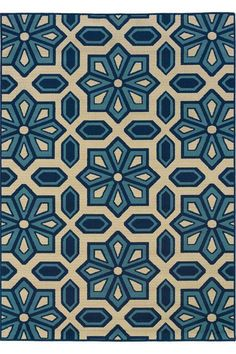 Tazi Area Rug - Patio Outdoor Rugs - Synthetic Rugs - Area Rugs | HomeDecorators.com
