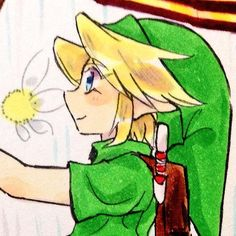 Young Link by @BHTshiikun   #MM3D