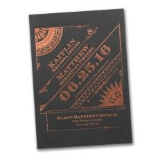 Gatsby themed art deco Invitation