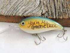 Christmas Gift for Husband Christmas Gift for Boyfriend Gifts under 20 Gift Ideas for Him My Greatest Catch Fishing Lure Keychain Engagement #boyfriendgift