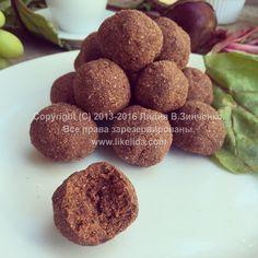 Пирожное «Картошка» со свёклой (без сахара, без масла, веганское) | ЛИДА ЗИНЧЕНКО