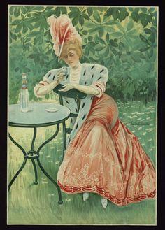 """Gaseosa Reina. J. Daura"", 1896.  Courtesy of the Biblioteca de Catalunya (http://www.bnc.cat). (Rights Reserved - Free Access) http://www.europeana.eu/portal/record/91906/35B91CA9AEBFF2F6E438125B3B45B45072AD2574.html"