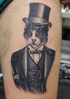 Mr. Cheshire was purrrfectly dressed! By Phatt German