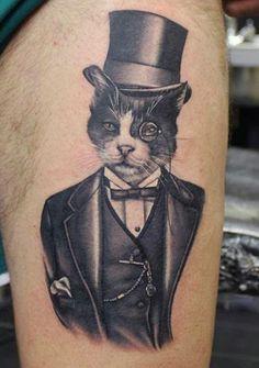 Mr. Cheshire was purrrfectly dressed! By Phatt German