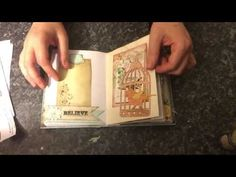 Enchanted Rose Journal Guest DT for Ephemera's Vintage Garden - YouTube