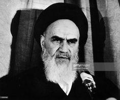 1979: Iranian leader, Ayatollah Imam Rouhollah Khomeini.