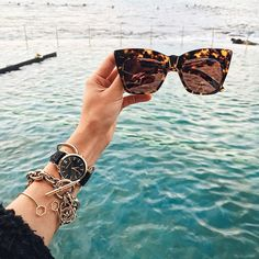 Where To Buy All The Stuff You See On Instagram | Tortoise Shell Sunglasses | For more ideas, click the picture or visit www.thedebrief.co.uk