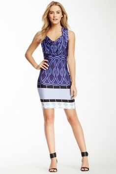 Cap Sleeve Cowl Neck Dress on HauteLook