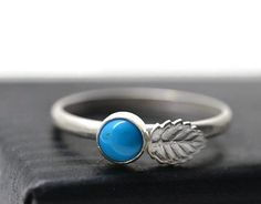 Sleeping Beauty Turquoise Ring Turquoise Jewelry by fifthheaven