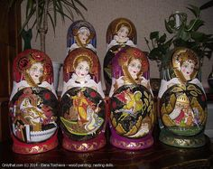 20-piece Matryoshka - nesting dolls