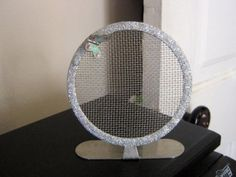 Claire S Round Bling Metal Mesh Earring Ear Stud Jewelry Display Show Holder Rack 900690