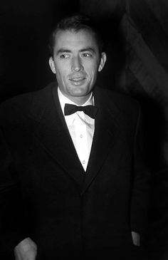 Gregory Peck attends an event in Los Angeles, 1950s