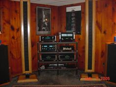Full McINTOSH LABS setup with the amazing XRT-20 speaker system