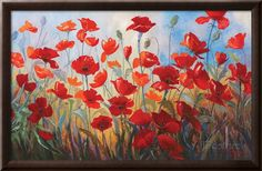 Poppies at Dusk III Giclee Print by Stanislav Sidorov at AllPosters.com