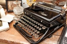 For some reason I think I would have been a better creative writer if I got to type on one of these...