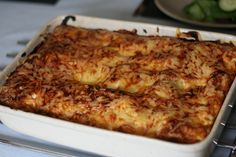 Garry's Healthy Lasagne