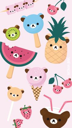 Rilakkuma ★ Find more super cute Kawaii #iPhone + #Android #Wallpapers and #Backgrounds at @prettywallpaper