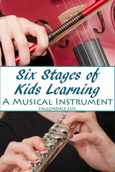 Six Stages of Kids Learning a Musical Instrument