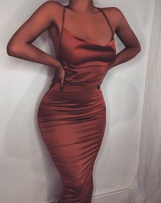 Glamorous December 24 2019 at fashion-inspo Prom Outfits, Hoco Dresses, Dressy Outfits, Mode Outfits, Night Outfits, Satin Dresses, Ball Dresses, Elegant Dresses, Pretty Dresses