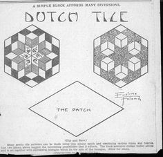 Kansas City Star Dutch Tile 1931