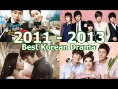Top 35 Best Korean Drama of 2011-2013. some good suggest on it when im bored