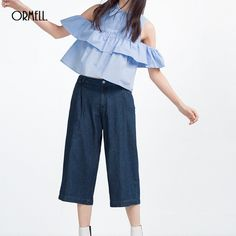 ORMELL #Sexy Top Womens #Summer #Blouses Turn Down Collar Open Shoulder #Butterfly Sleeve Vintage Cute Blouse