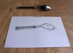 spoon contour drawn 2