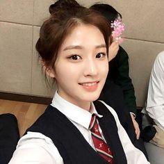 Korean Ulzzang, Ulzzang Girl, Cute Girls, Cool Girl, Korean Make Up, Waifu Material, Girls Uniforms, Cute Girl Outfits, Asian Beauty