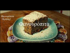 Φανουρόπιτα (Κρήτης) - Fanouropita/Olive Oil Spiced Cake (Vegan) - YouTube Rice Desserts, Cake Vegan, Spice Cake, Olive Oil, Holi, Spices, Baking, Greek, Cakes