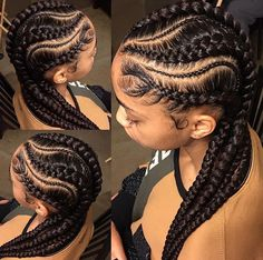 #protectivestyles #feedinbraids #braids