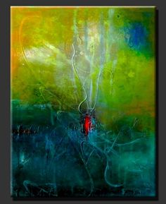 """Abstract Painting """"Inspiration"""" s"""
