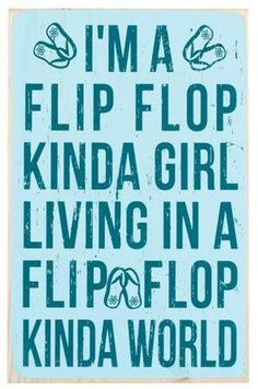 THAT ABOUT SUMS IT UP! IM A SIMPLE LITTLE LADY LIVING A SWEET AND SIMPLE LIFE. DOESNT TAKE MUCH TO KEEP ME HAPPY. ❤WARM WEATHER, THE SALT AIR, SAND IN MY TOES, THE SOUND OF MY HUSBAND & CHILDREN LAUGHING, KNOWING MY FAMILY ARE ALL HEALTHY & HAPPY, & OF COARSE A PAIR OF FLIP FLOPS IN EVERY COLOR