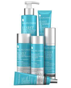 ¡Nuevo! Linea Resist Oily, las arrugas y el acné al mismo tiempo tienen los días contados.