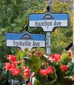 Yorkville & Hazelton Avenue Toronto Victoria Boscariol Chestnut Park Real Estate #yorkville #toronto